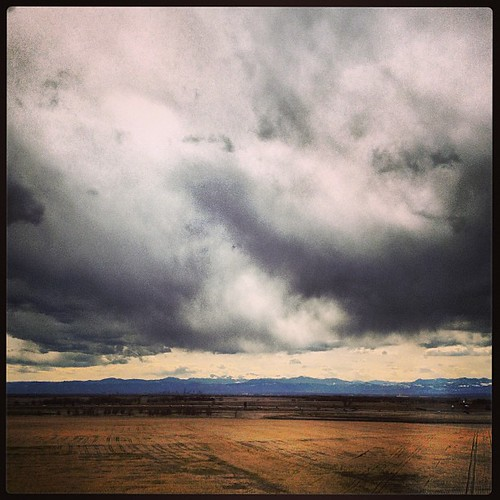 #clouds over #denver by @MySoDotCom