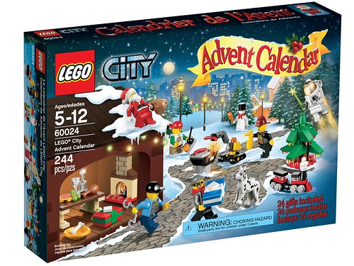 60024 LEGO City Advent Calendar BOX