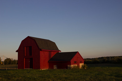 Barn by Christopher OKeefe