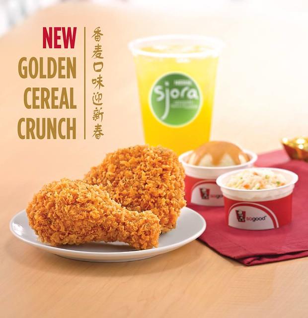 KFC golden cereal crunch