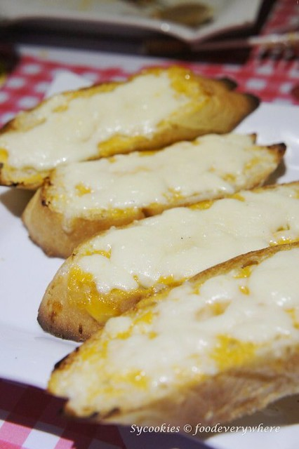 4.pizza gallery -Cheese Bread RM 6.90