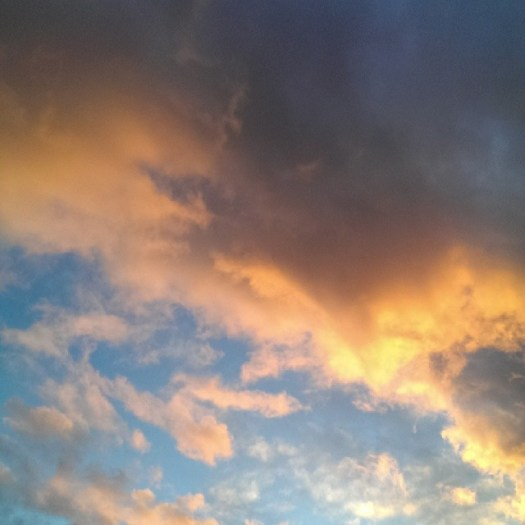 What's up, sky, lookin good ;)