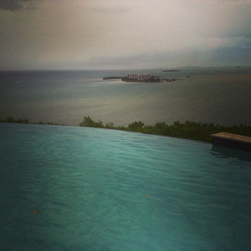 Infinity pool at the Waldorf Astoria Fajardo PR by @MySoDotCom