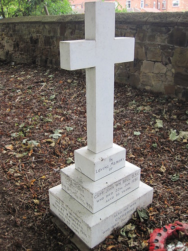 Captain John Bell DSC Grave, Redcar