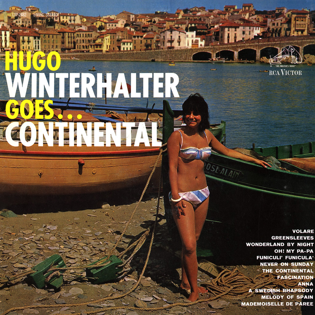 Hugo Winterhalter ‎Goes... Continental