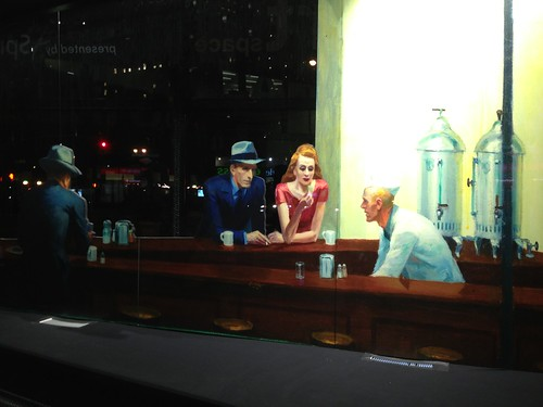 Edward Hopper's Nighthawks Hops Into the Flatiron Building
