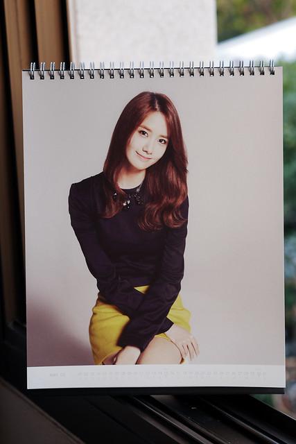 SNSD 2014 Calendar: YoonA