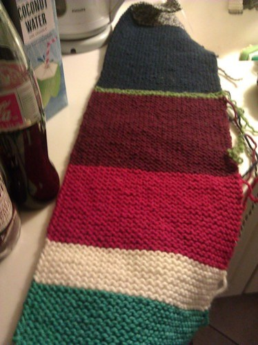 garter stitch blanker