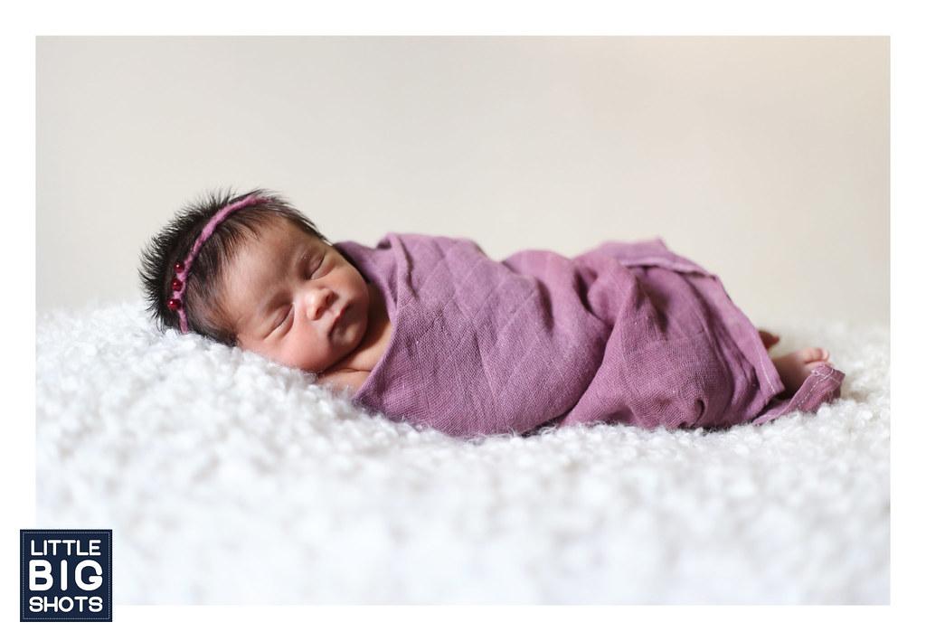 Introducing Aisyah Qisha Hanania | Newborn Portraiture