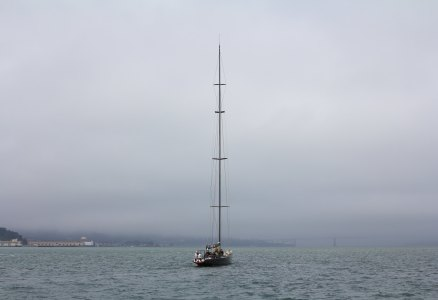 Yacht on the Bay