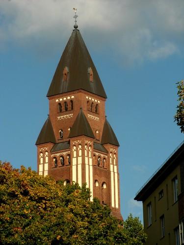 Marienkirche in Friedenau - Turm