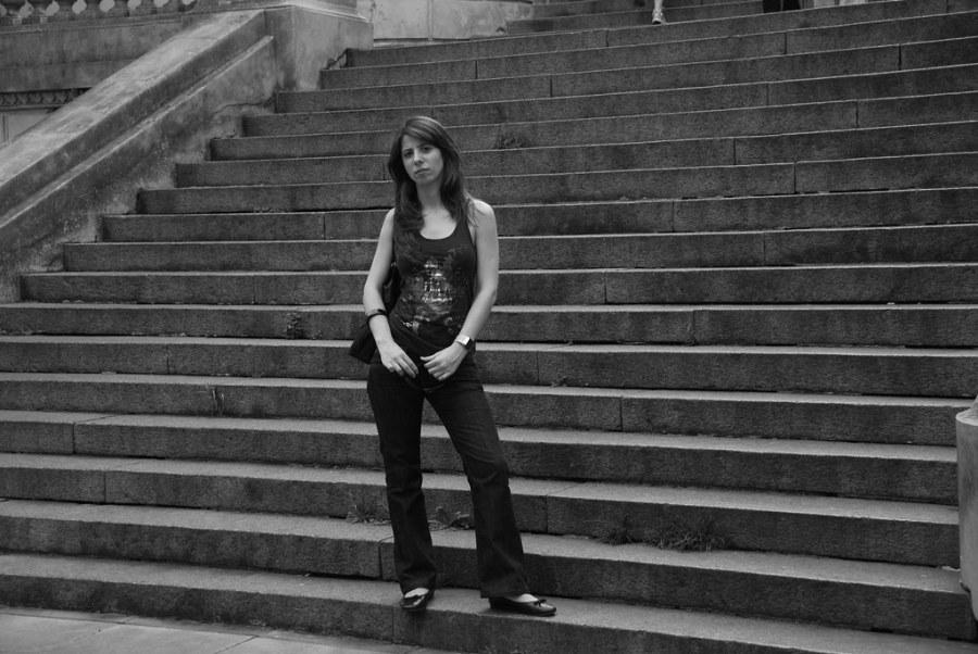 Mari escaleras Recoleta