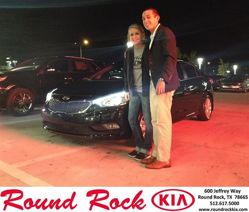 Thank you to Bianca Caps on your new 2014 #Kia #Forte from Derek Martinez and everyone at Round Rock Kia! #NewCarSmell by RoundRockKia
