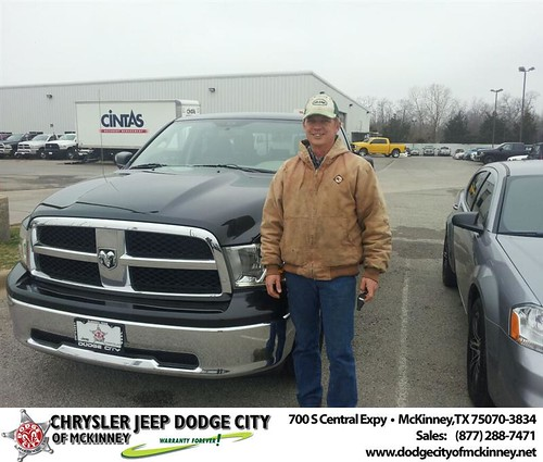 Thank you to Brian Wallace on your new 2011 #Ram #1500 from Brent Villarreal and everyone at Dodge City of McKinney! #NewCarSmell by Dodge City McKinney Texas