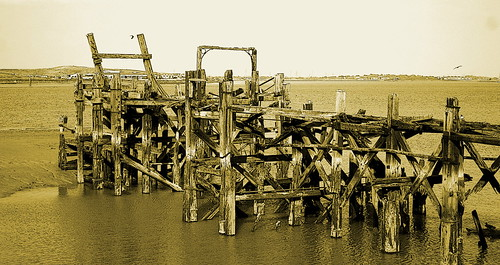 Edited Decaying Pier