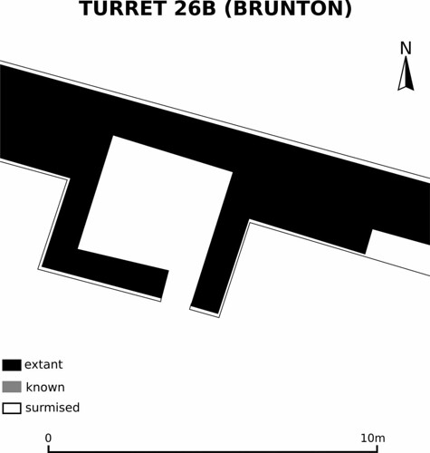Plan of Brunton Turret