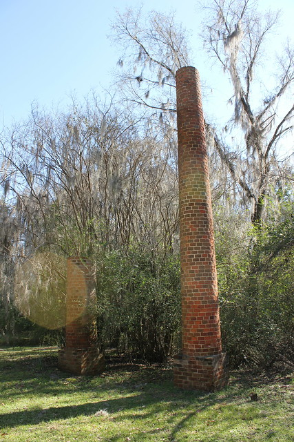 Crocheron Columns at Old Cahawba AL