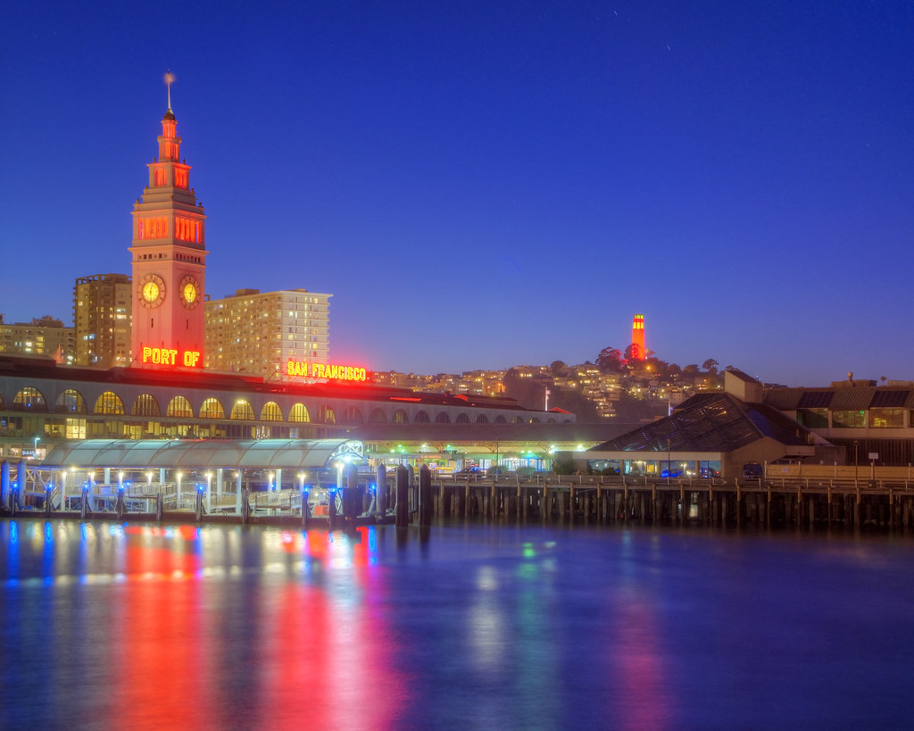 San Francisco's Red Towers