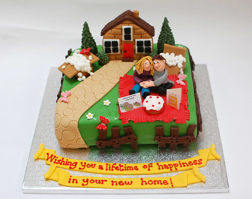 Happy New Home Cake – Beautiful Birthday Cakes