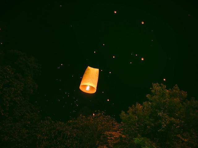 Chiang Mai, Thailand: Loi Krathong Day 2