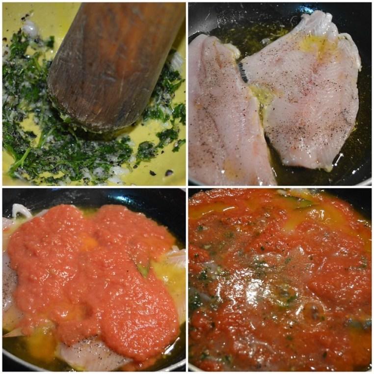 Japuta con salsa de Tomate Natural