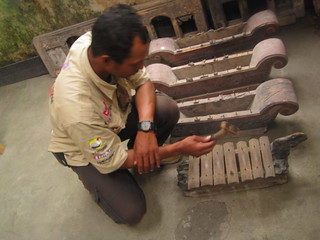 This Gamelan, a traditional musical instrument, still sounds good