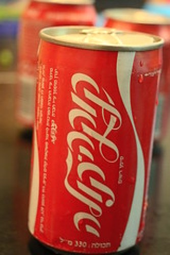 Can of Coke, Israel 1985