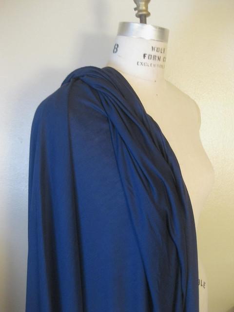 Navy Cotton Knit
