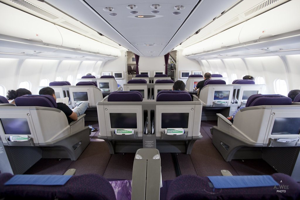 The Business Class Cabin