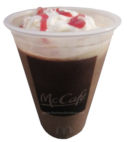 McDonald's Chocolate Covered Strawberry Frappe