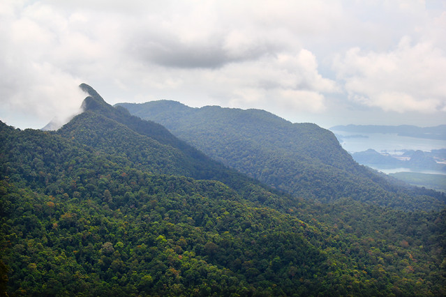 View from Sky Cable - Langkawi
