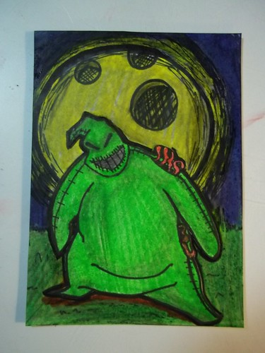 nightmare before xmas atc collection #4 by oddbroad