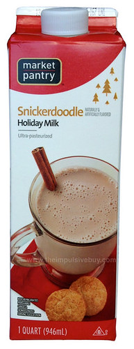 Market Pantry Snickerdoodle Holiday Milk