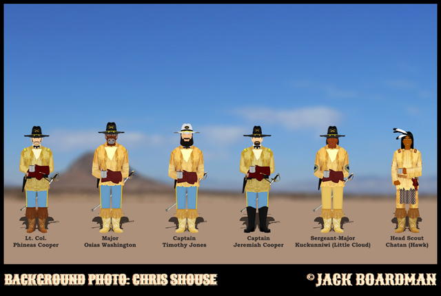 Lt Col Phineas Cooper & Company ©2014 Jack Boardman