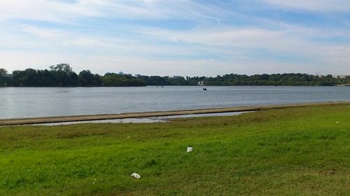 Washington Channel & Tidal Basin at high tide