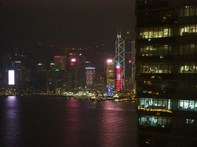 W HONG KONGのお部屋からの眺め