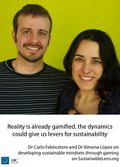 Carlo Fabricatore and Ximena Lopez on Sustainable Lens
