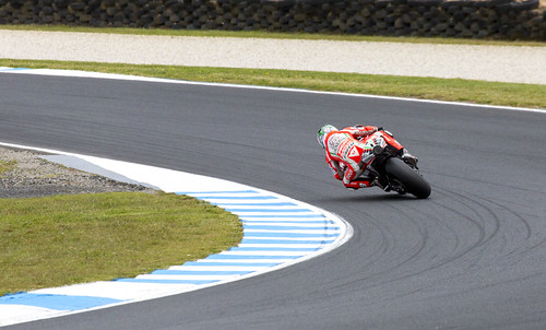 Nicky Through The Turn by Daniel Hall - AUS