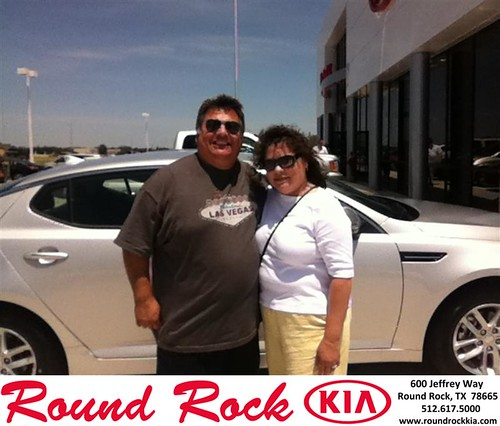 Thank you to Oliva Gamez on the Kia Optima from Timmy Wiles and everyone at Round Rock Kia! by RoundRockKia
