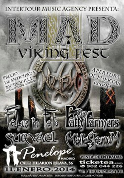 The Fatty Farmers en el MAD Viking Fest