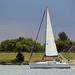 Boot op het Veerse Meer