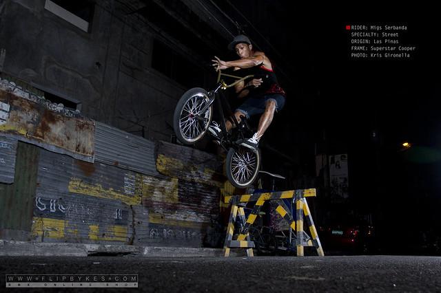 Flipbykes Team - Migs Serbanda (BMX Street)