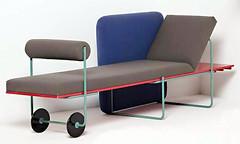 Century chaise by Andrea Branzi '82