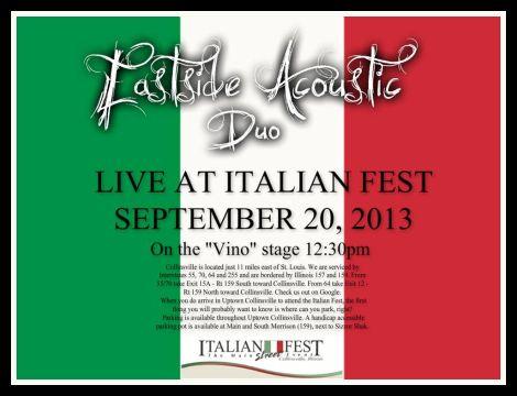 Eastside Acoustic 9-20-13