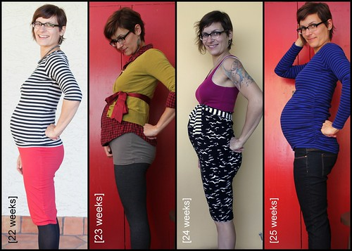 Bump Watch, 2013: Weeks 22-25.