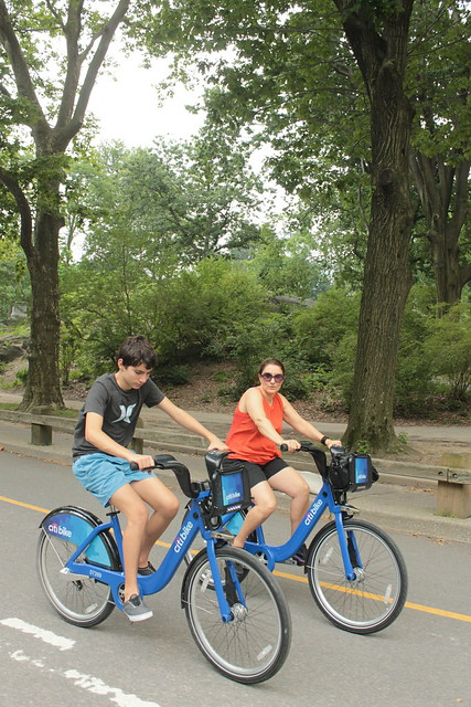 Tourists from Turkey on Citibike