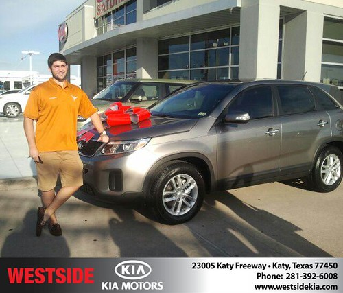 Thank you to Nicholas Hacopian on the 2014 Kia Sorento from Gil Guzman and everyone at Westside Kia! by Westside KIA