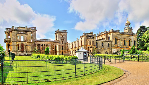 Witley Court (visitor entrance).