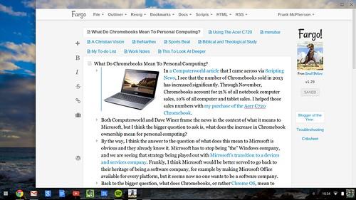 Fargo on Chromebook