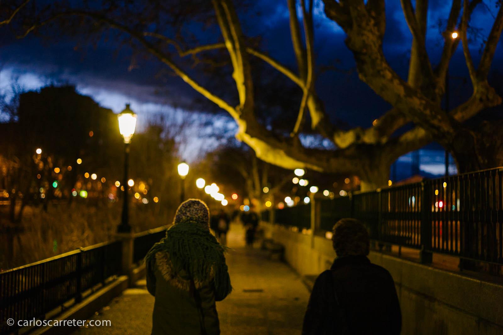 Nocturna: paseo por el Canal